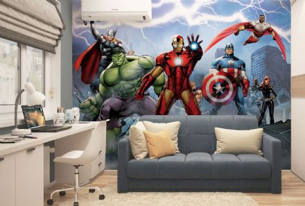 Marvel Avengers Paper wallpaper mural